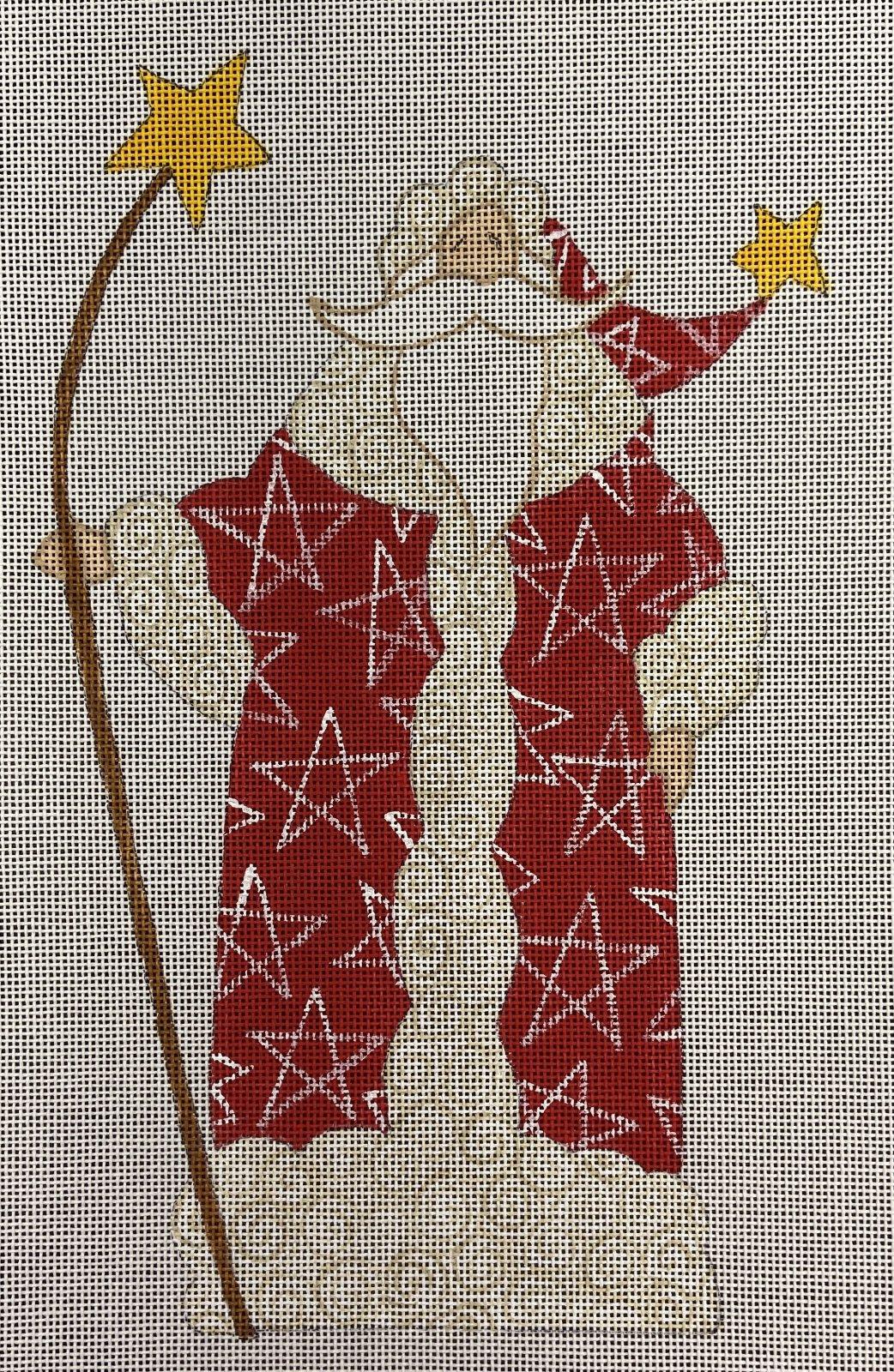 CB Santa Red Coat with Star Fleur de Paris