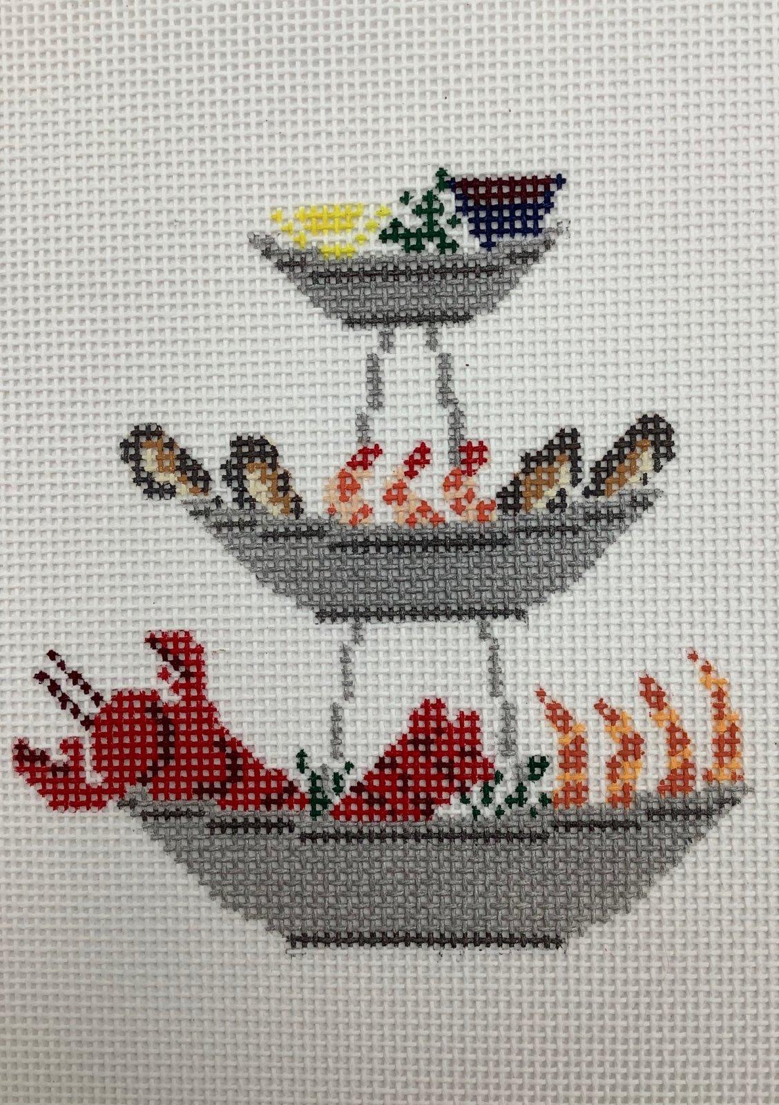 MJD30 Seafood Tower Morgan Julia Designs