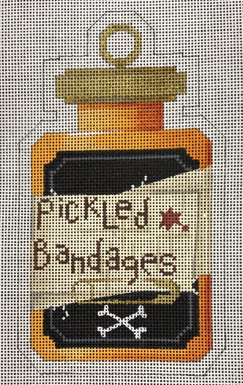 KB326 Pickled Bandages Halloween Jar Stand Up Kirk & Bradley