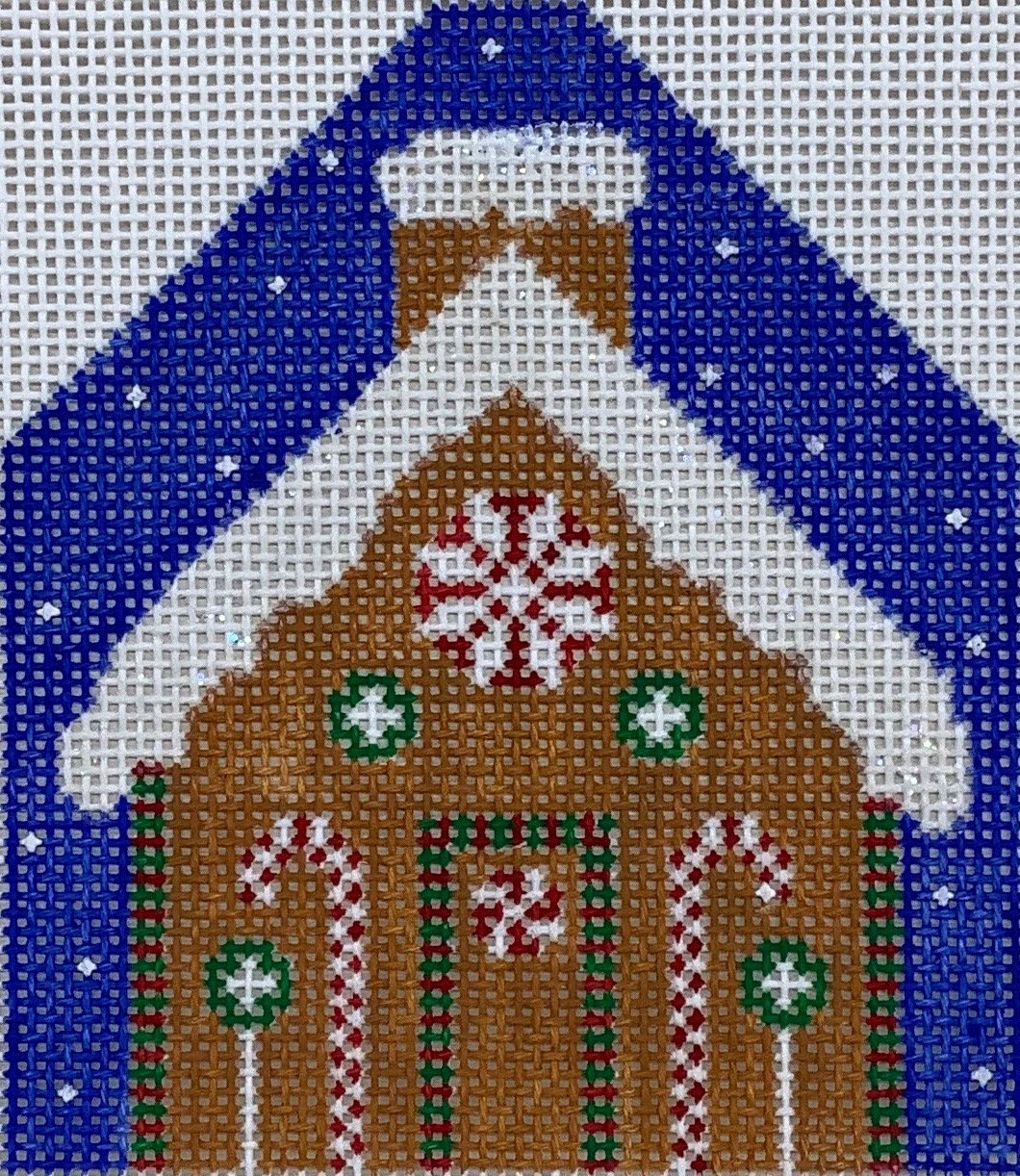 WS406D Gingerbread House Ornament Chris Lewis Distributing