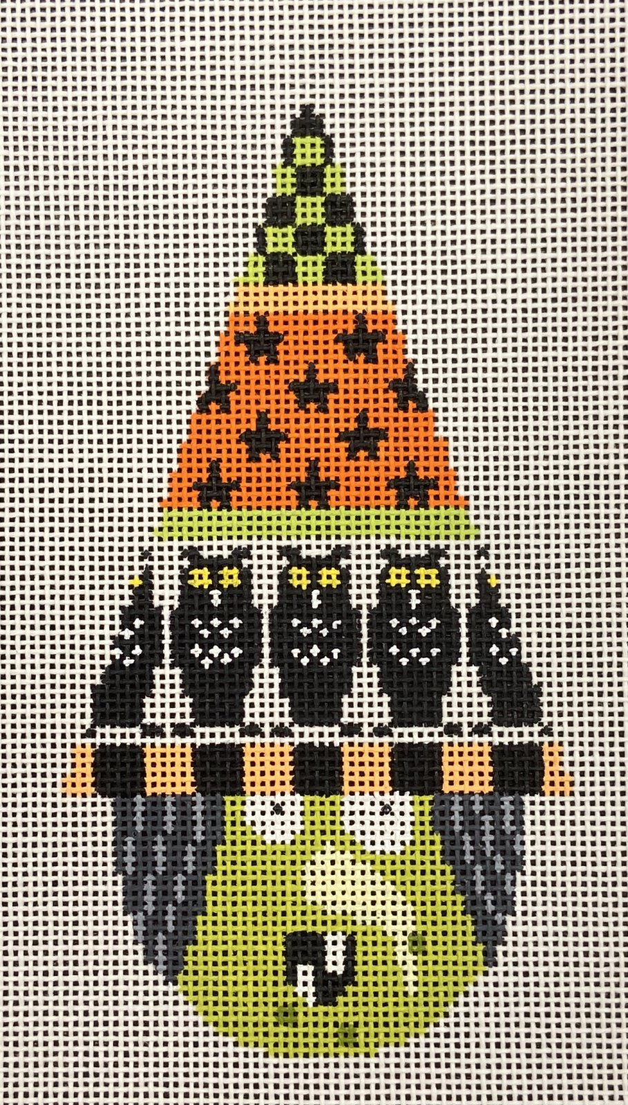KB1310 Witchy Owl Cone Head Halloween Ornament Kirk & Bradley