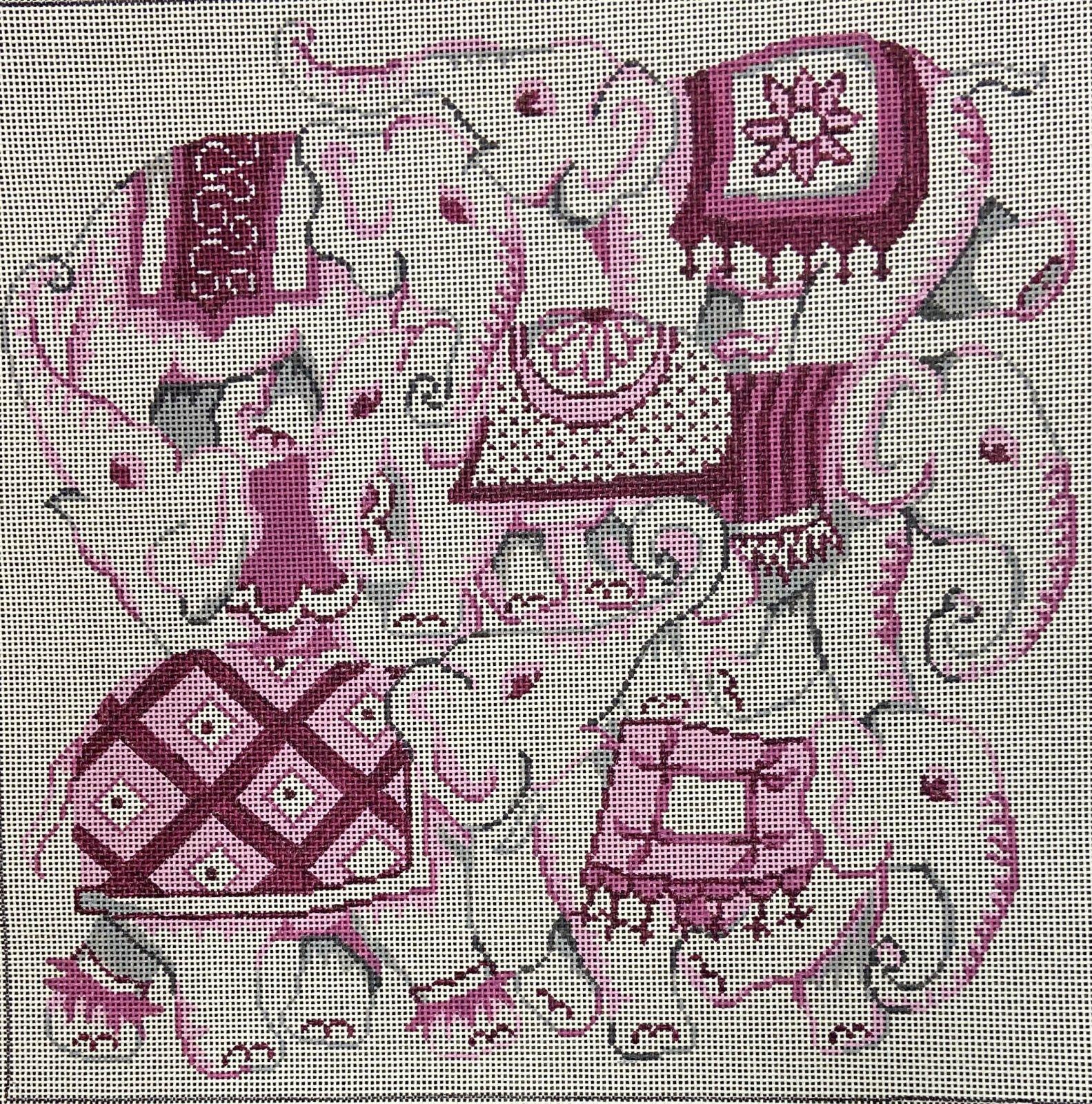 PM2511 A Pile of Pink Elephants Patti Mann