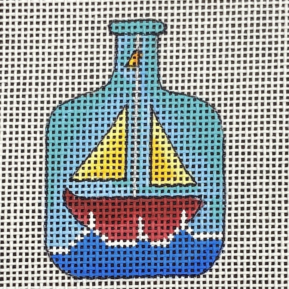 BOT106B Wee Sail Boat in a Bottle Renaissance Designs