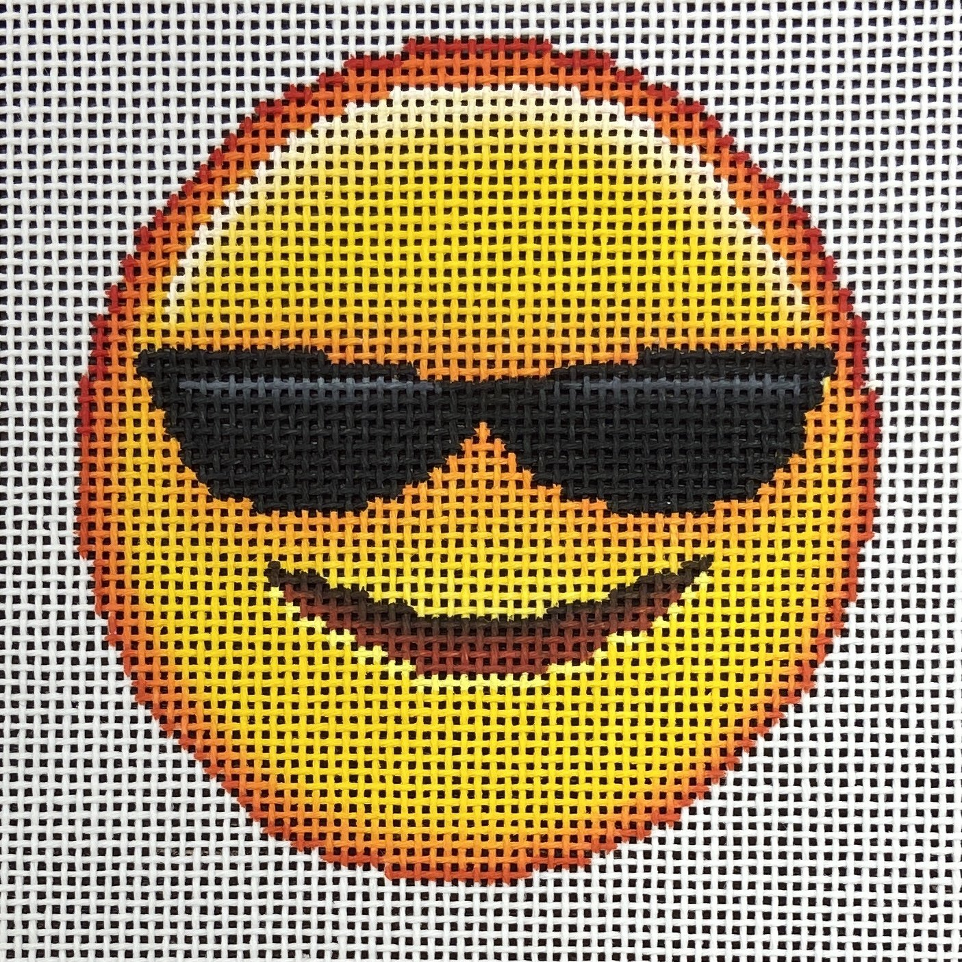 EJ002 Cool Emoji Ornament Point Of It All Designs