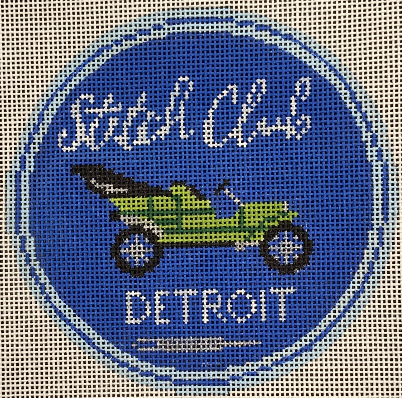 LL149 Detroit Stitch Club Labors of Love