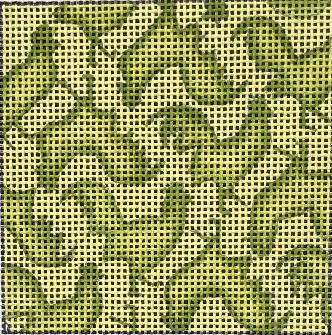 PB15541H Insert Green Roosters on Yellow The Collection