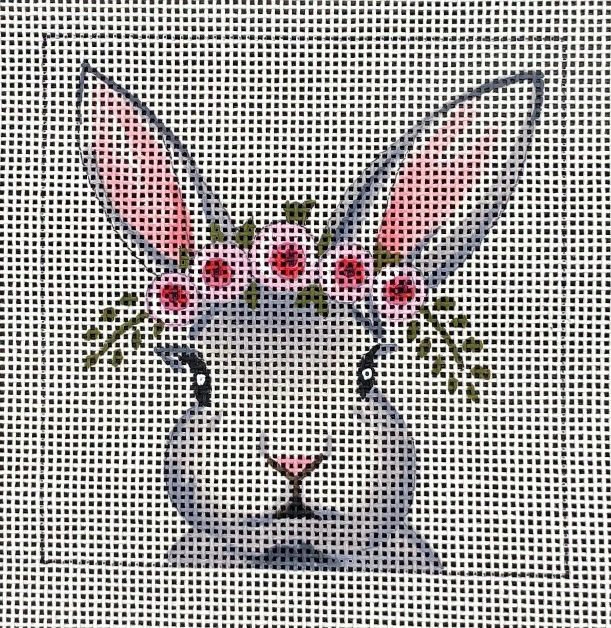 COPIN081 Bunny with a Floral Crown Insert Colors of Praise