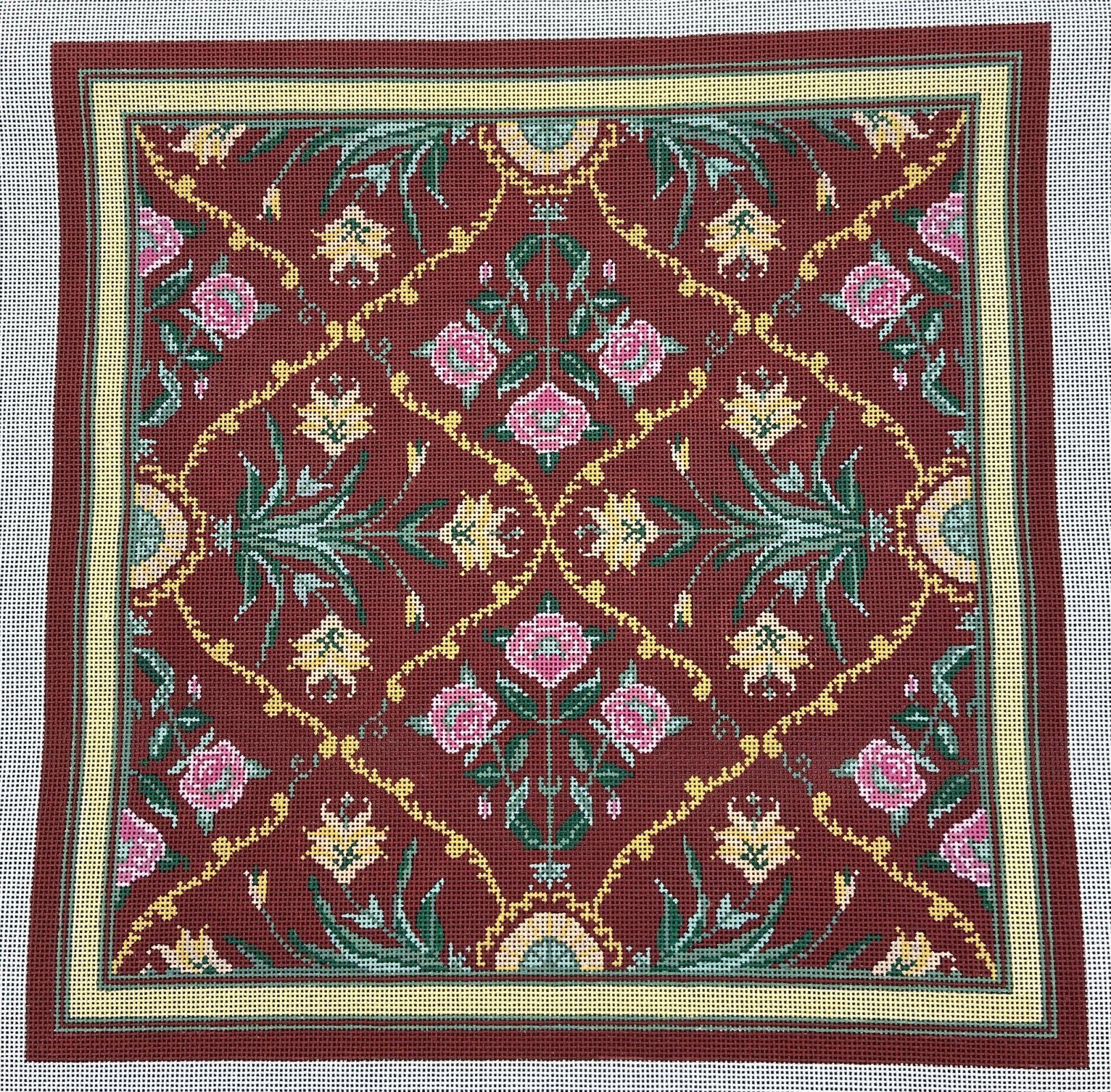 LC5167B-1 Kashmir Pillow CBK Needlepoint Collections