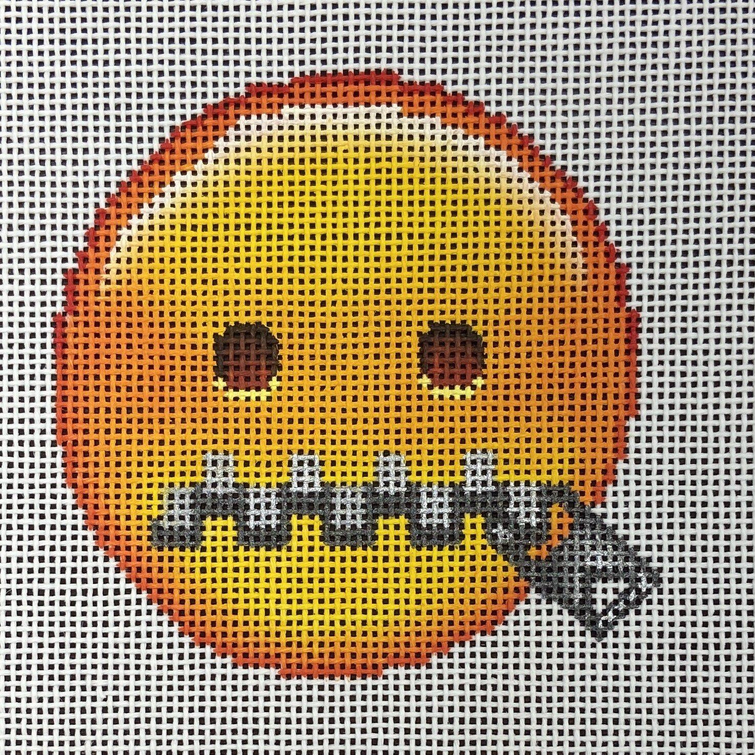 EJ005 Zip It! Emoji Ornament Point Of It All Designs