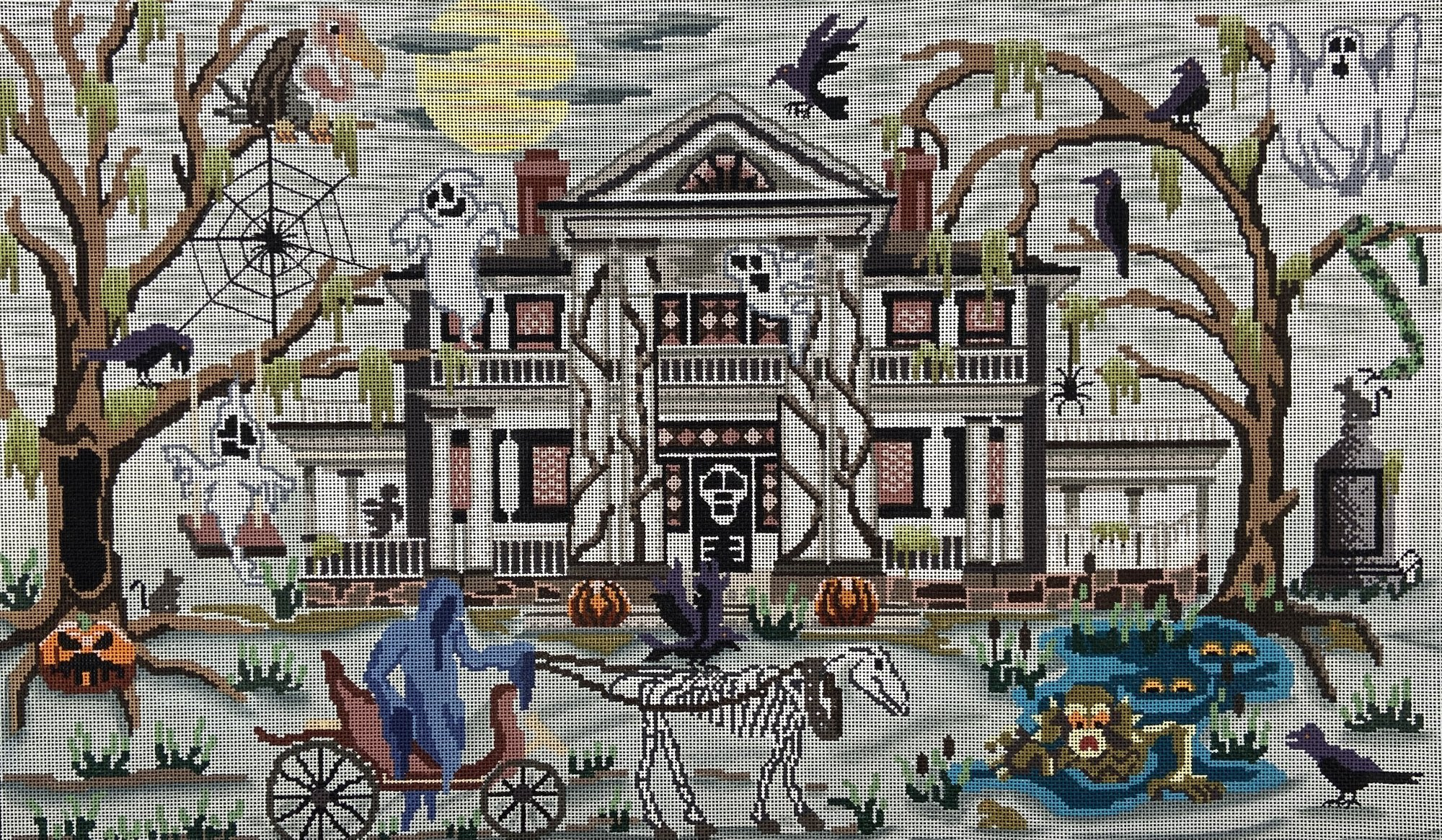 GC01 Phantom Plantation Haunted Halloween House Love You More