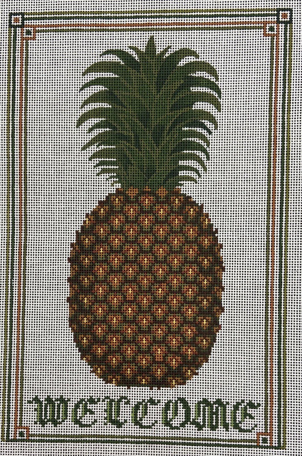 SRAP240 Welcome Pineapple Susan Roberts