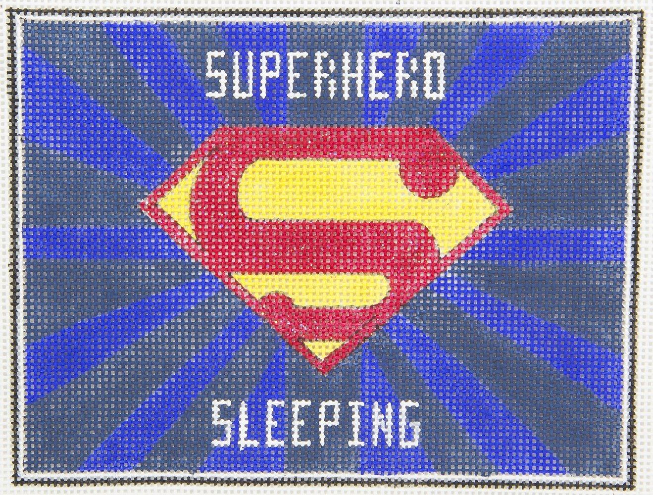 AP3739 Superman Sleeping Alice Peterson