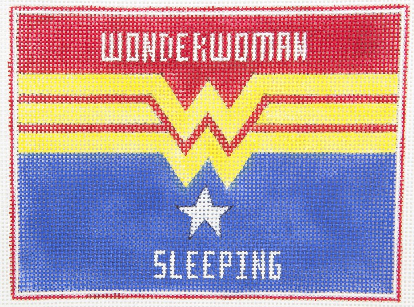 AP3746 Wonder Woman Sleeping Alice Peterson