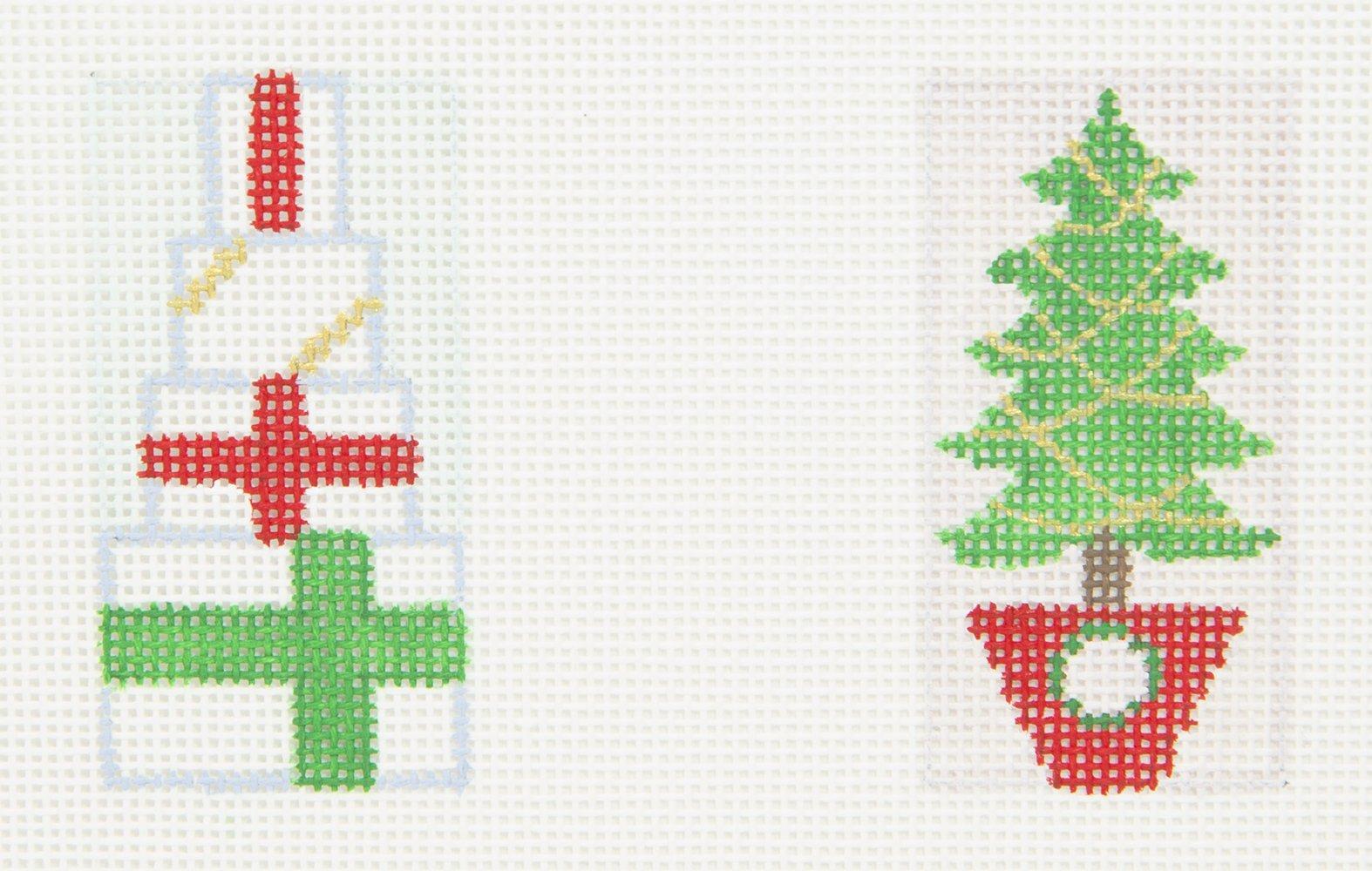 B504 Presents Tree Mini Double Brenda Stofft Designs