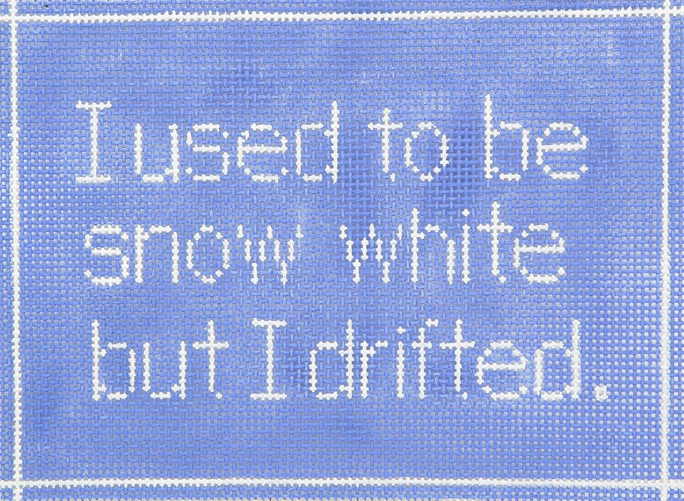SS01 I Used To Be Snow White? CBK Needlepoint