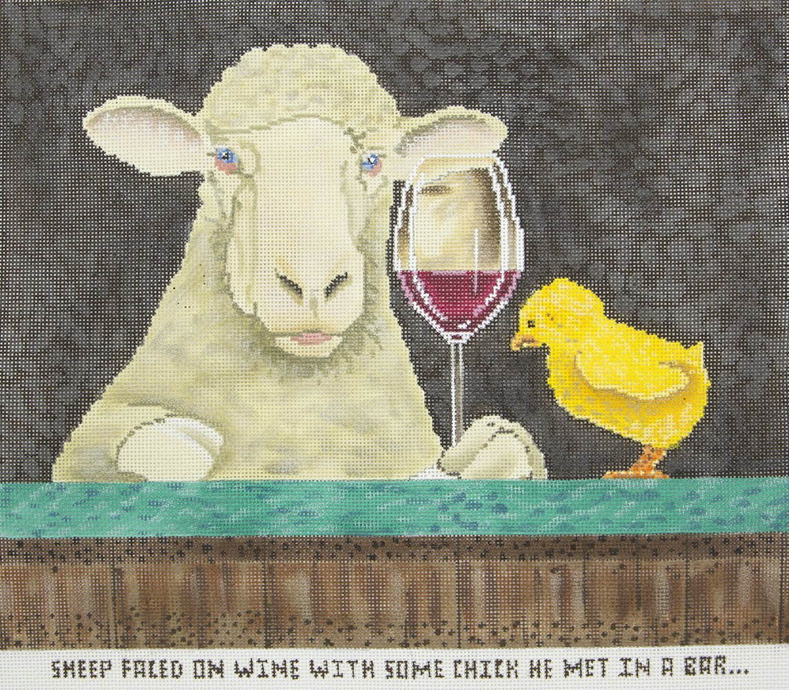 WBPL02 Sheep Faced On Wine CBK