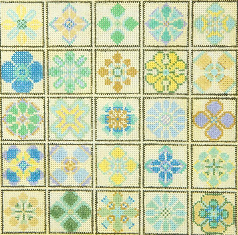 CM5023 Floral Squares