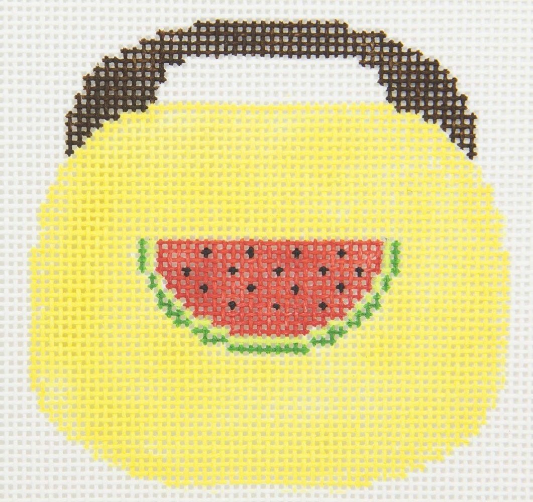 KKOBB109 Watermelon on Yellow Purse Chris Lewis