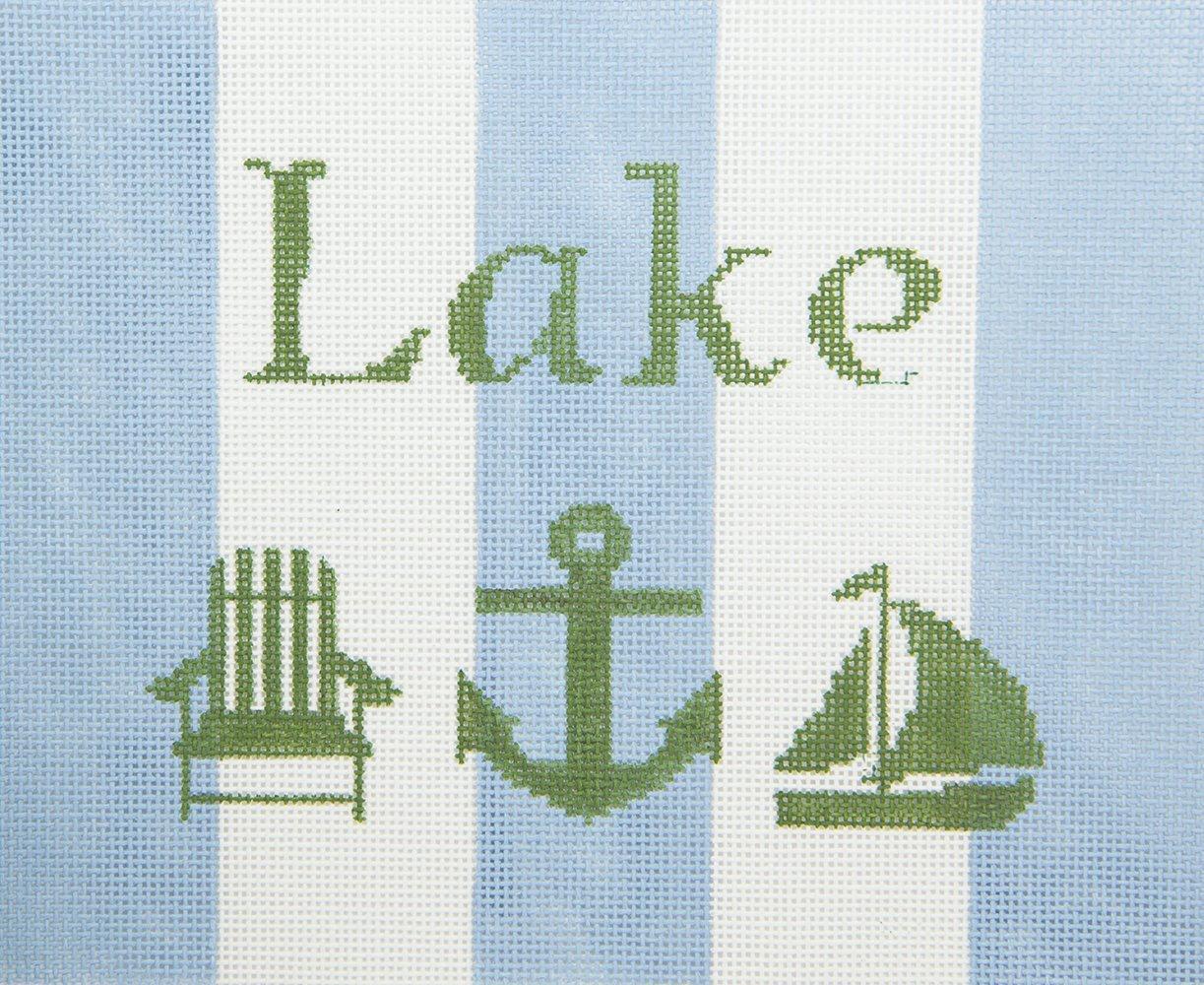 KKSG4 Lake Sign Chris Lewis