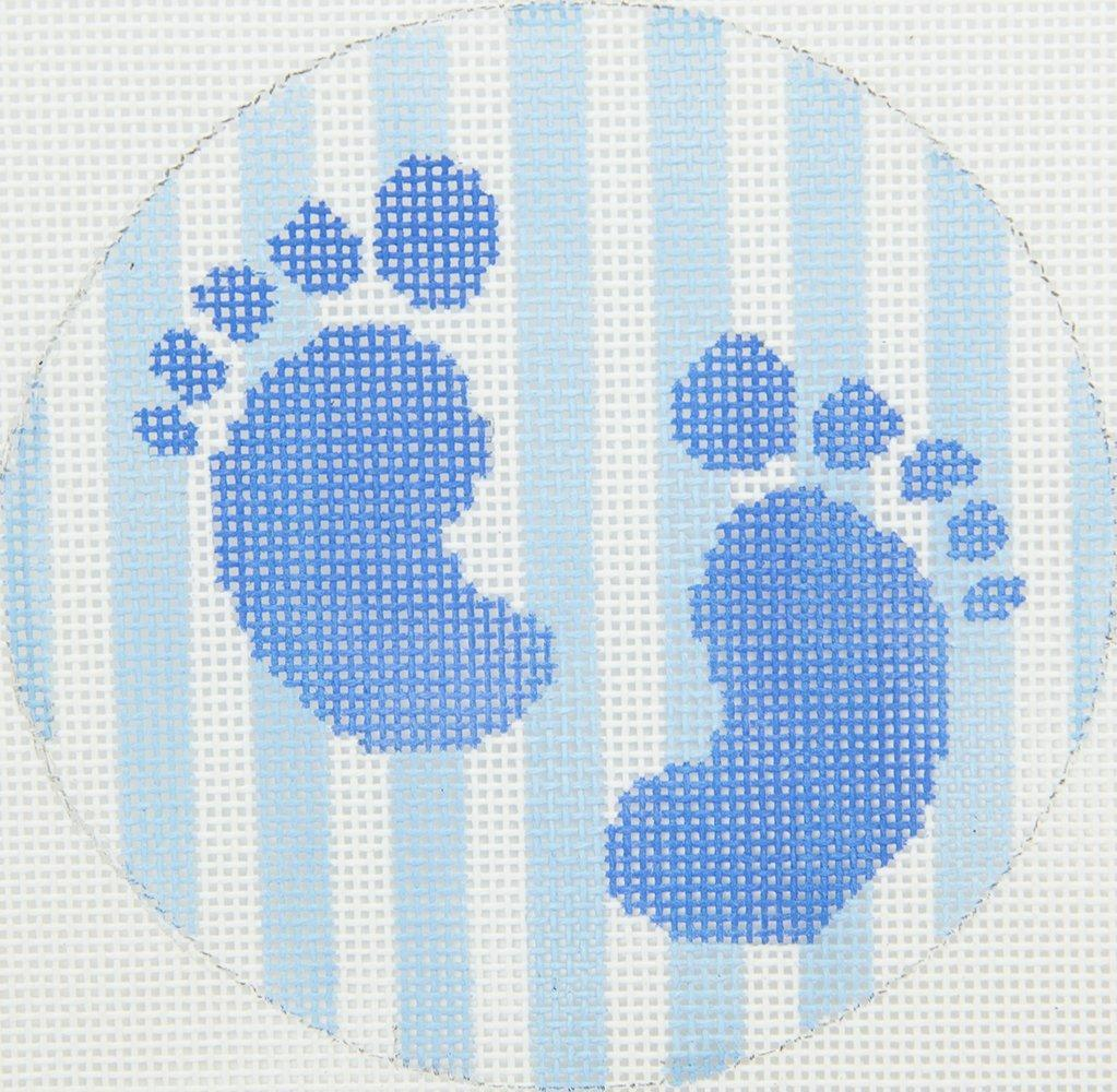 KKO113 Baby Boy Footprints Chris Lewis