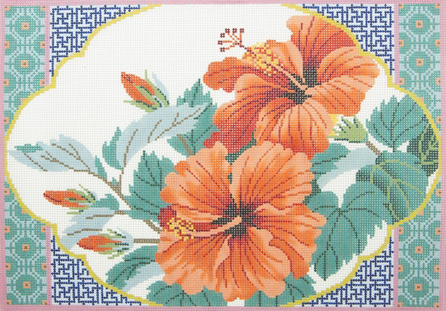 P1227 Flowers Lee Colonial Needle