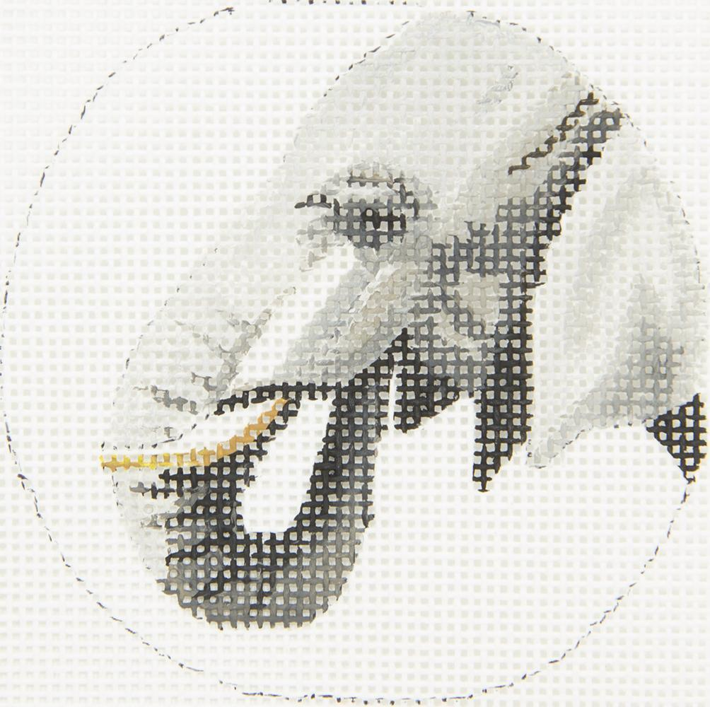 COPIN363 Elephant Profile Insert Round Colors of Praise