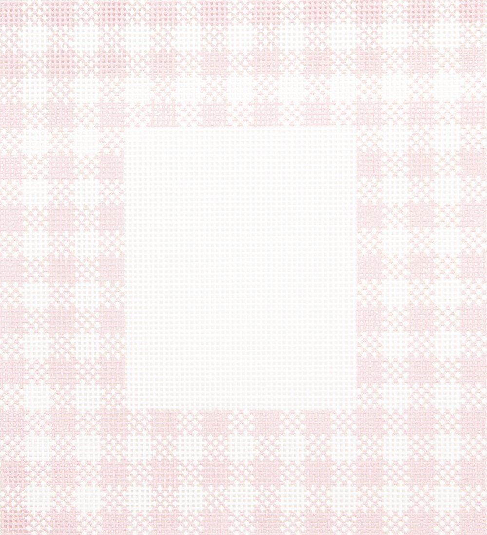 DD400FR Gingham Pink Frame Danae Designs