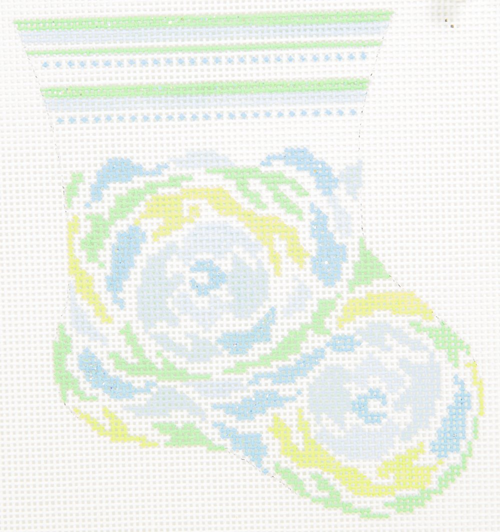 DD745B Baby Floral Stocking Danae Designs