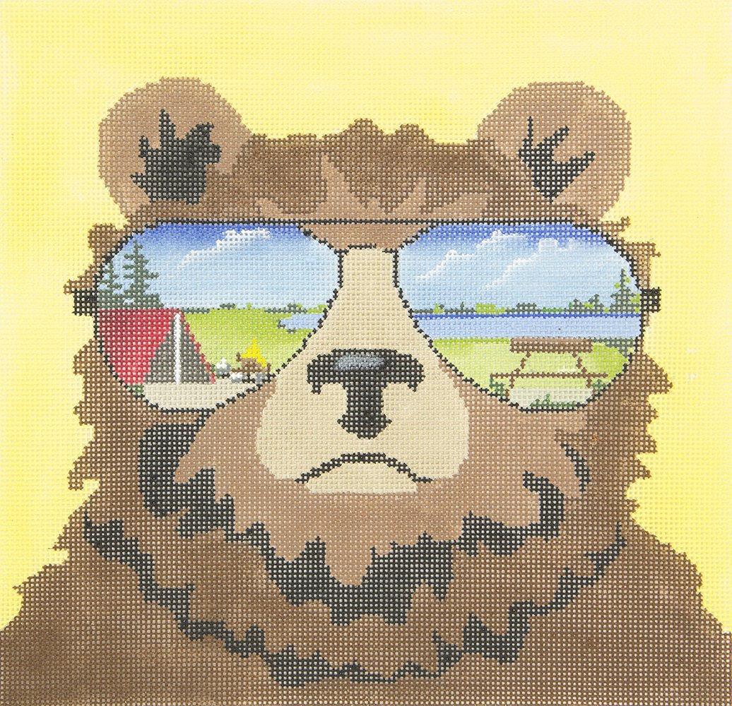 ZIA157 Bear with Sunglasses National Park Danji Designs