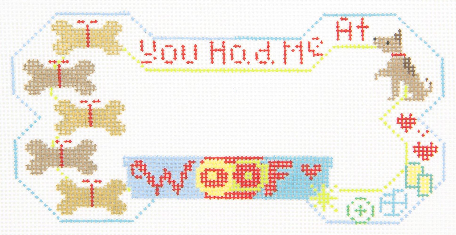 BP36 You Had Me at WOOF Dog Bone Danji Designs