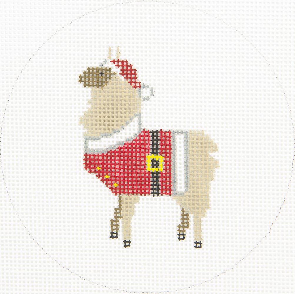 ZIA154 Llama with Santa Suit Danji Designs