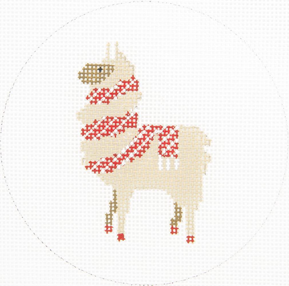 ZIA153 Llama with Scarf Danji Designs