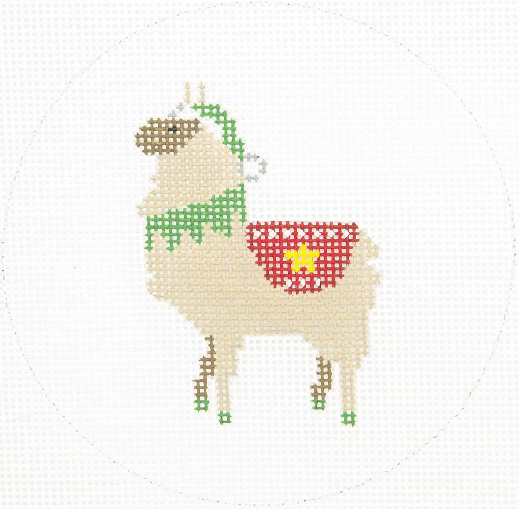 ZIA152 Llama with Blanket Danji Designs