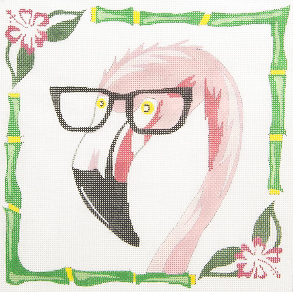 ZIA59 Flamingo in Glasses Danji Designs