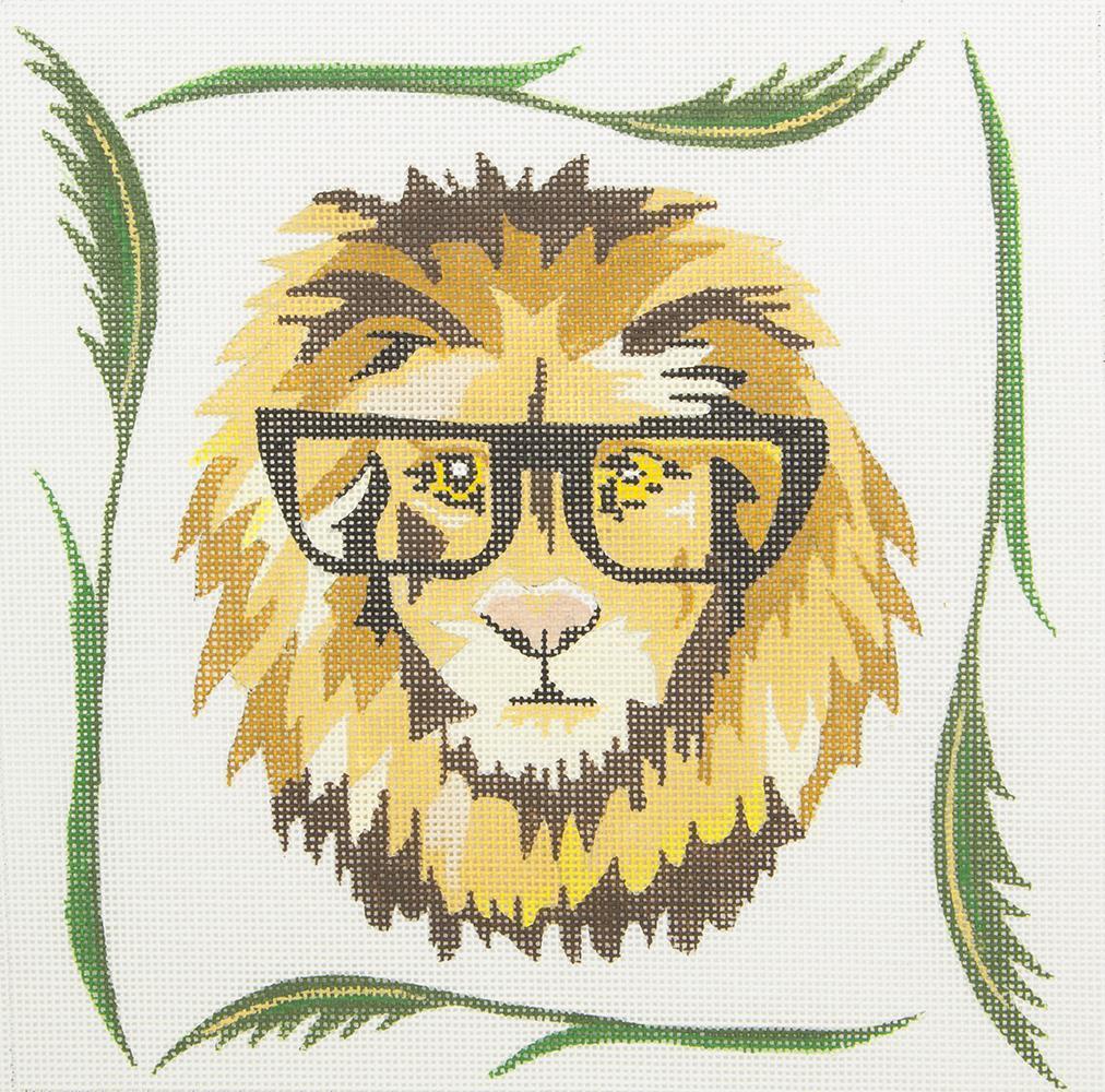 ZIA58 Lion in Glasses Danji Designs
