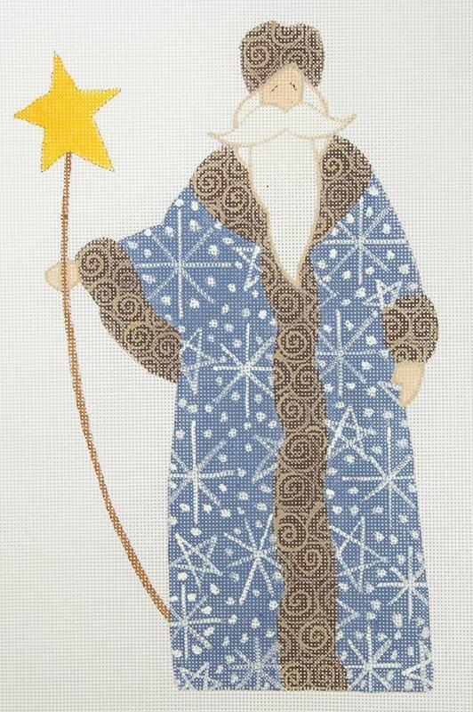 CB Santa Blue Coat with Star