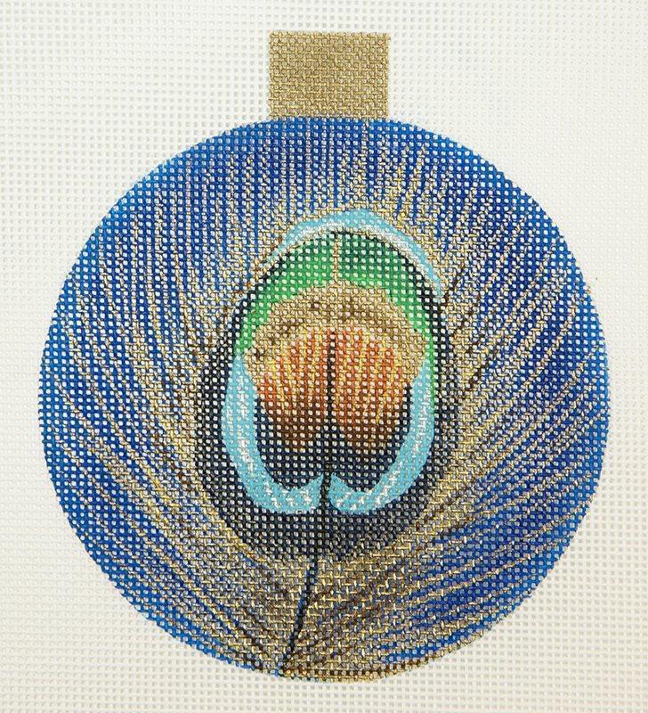 GS659 Peacock Ornament