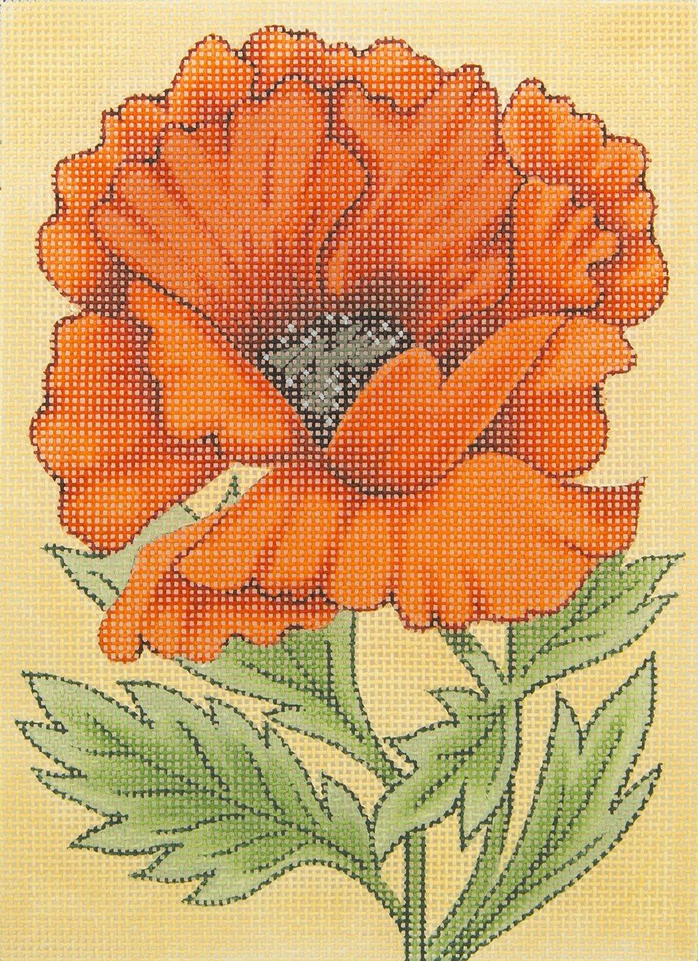TD002 Poppy Flower Fleur de Paris