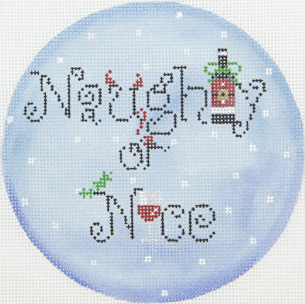 FS33 Naughty or Nice Ornament Funda Scully