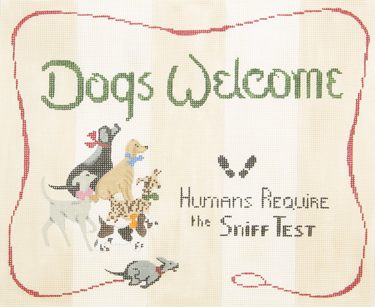 P|S003 Dogs Welcome Griffin Designs