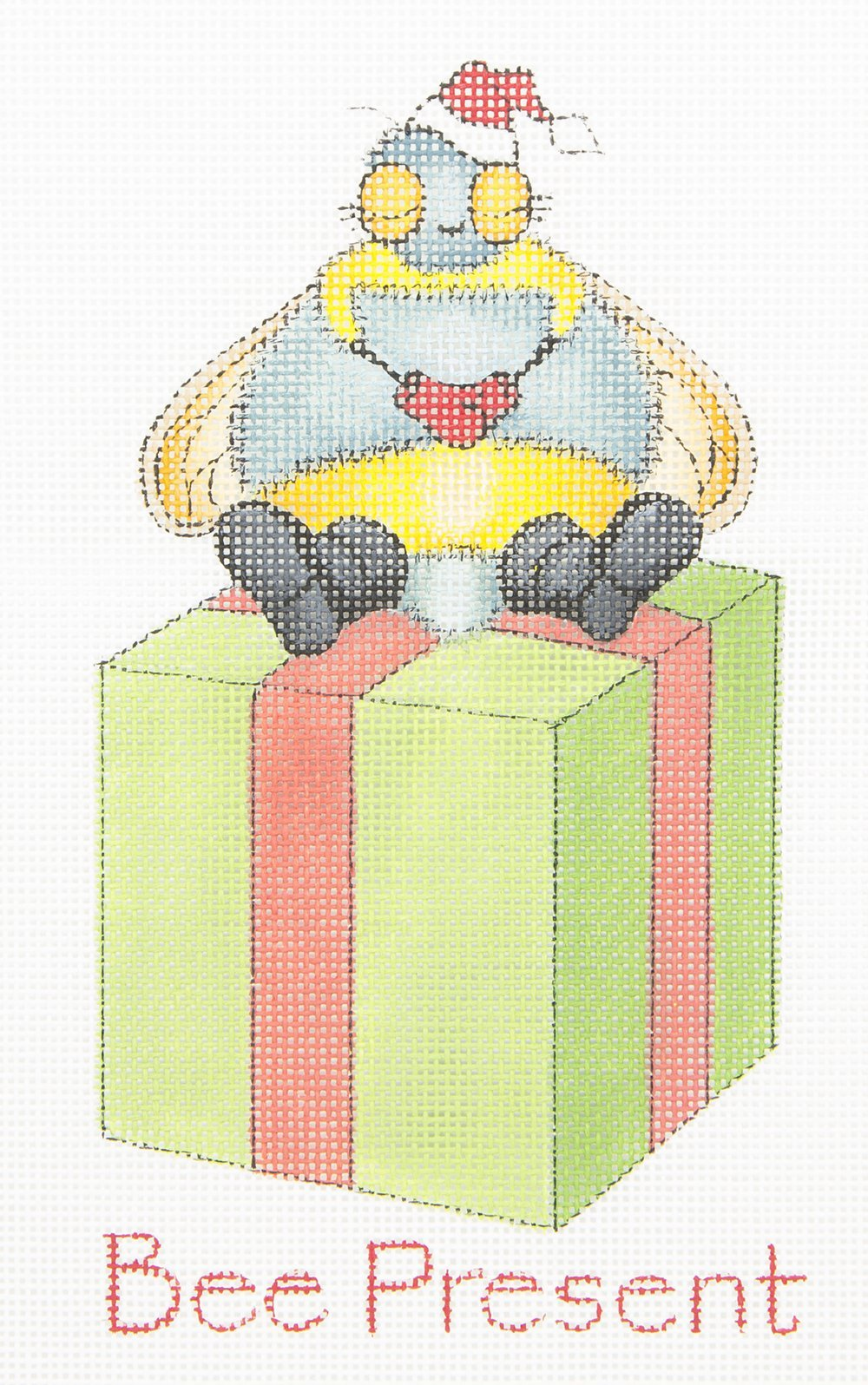 CD006 Bee Present HSN Designs