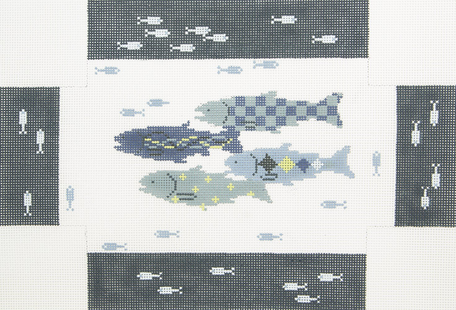 PDS002 Brick Cover Fishes Pippin Designsq