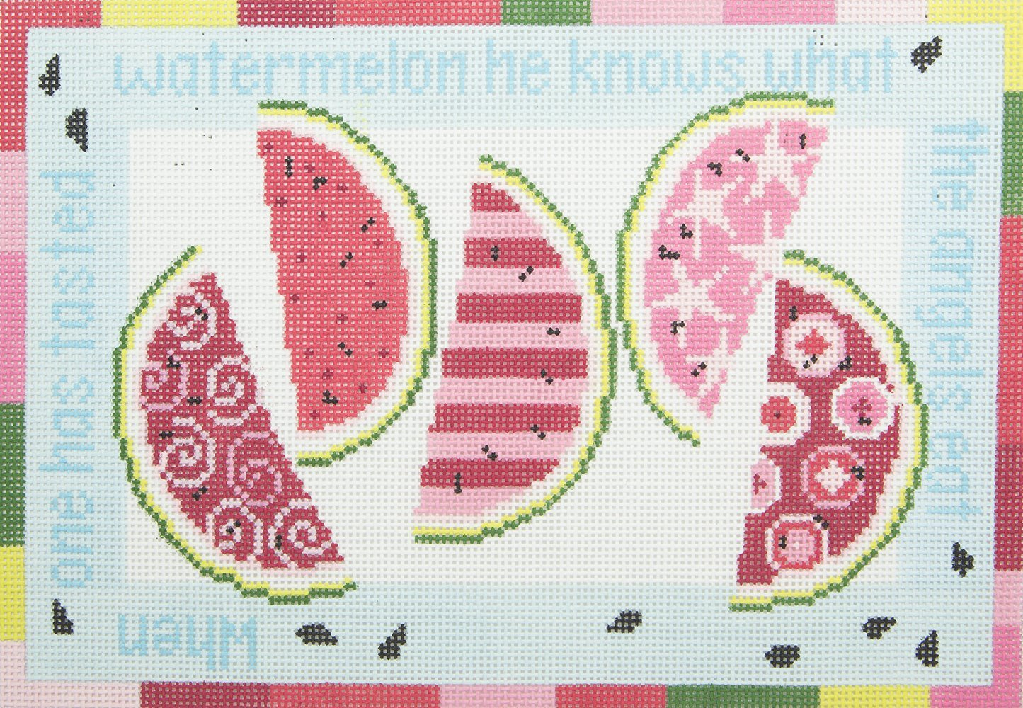 PF023 Angels Eat Watermelons Pippin