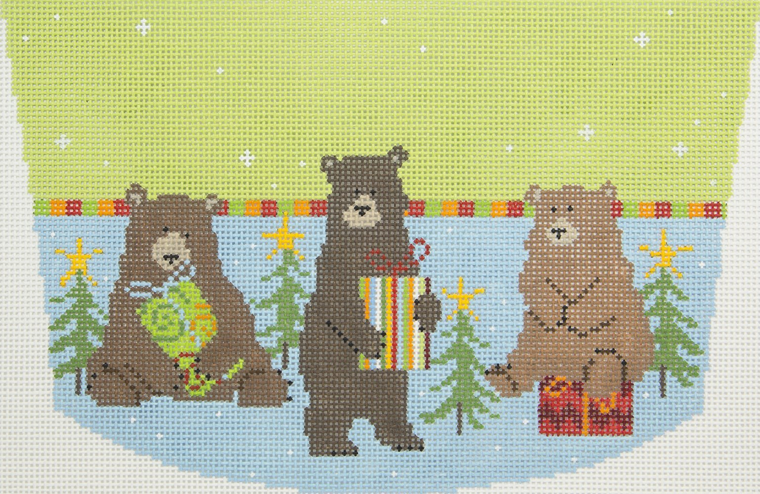 PCH022 Bears with Gifts Cuff Pippin