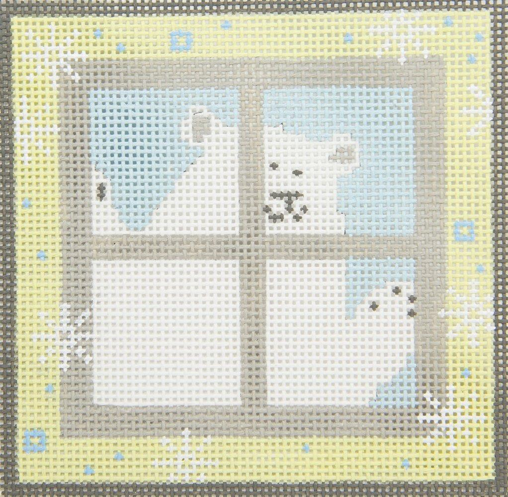 PSI003A Polar Bear Outside Window Pippin