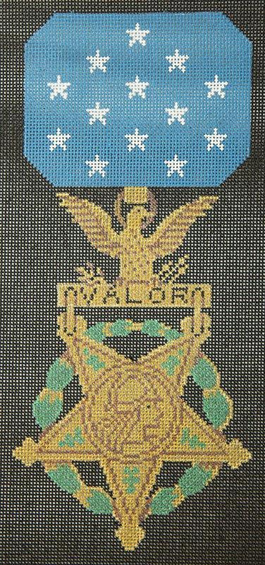 JPL32 Medal of Valor JP Needlepoint