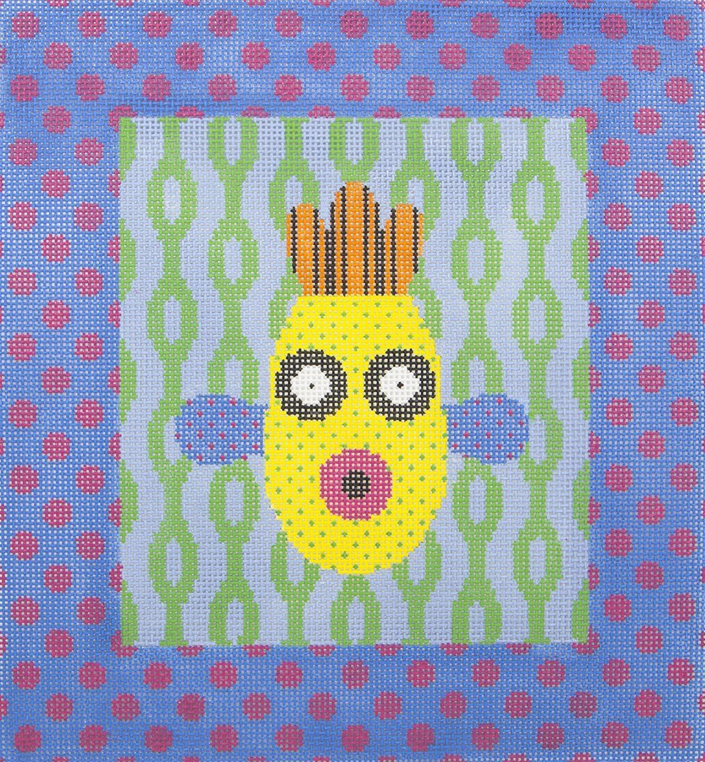 MJ009 Abstract Face JP Needlepoint