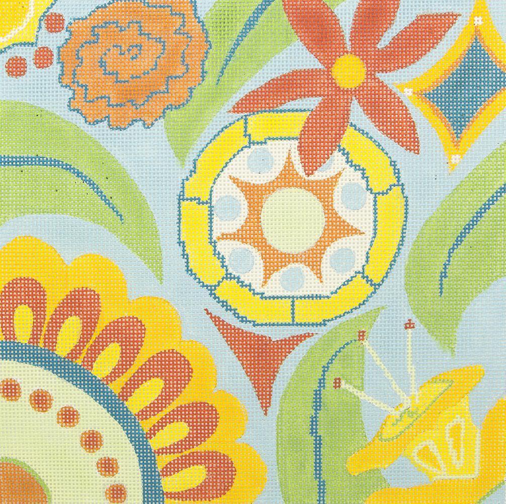 JKNA025 Abstract Flowers Judy Keenan