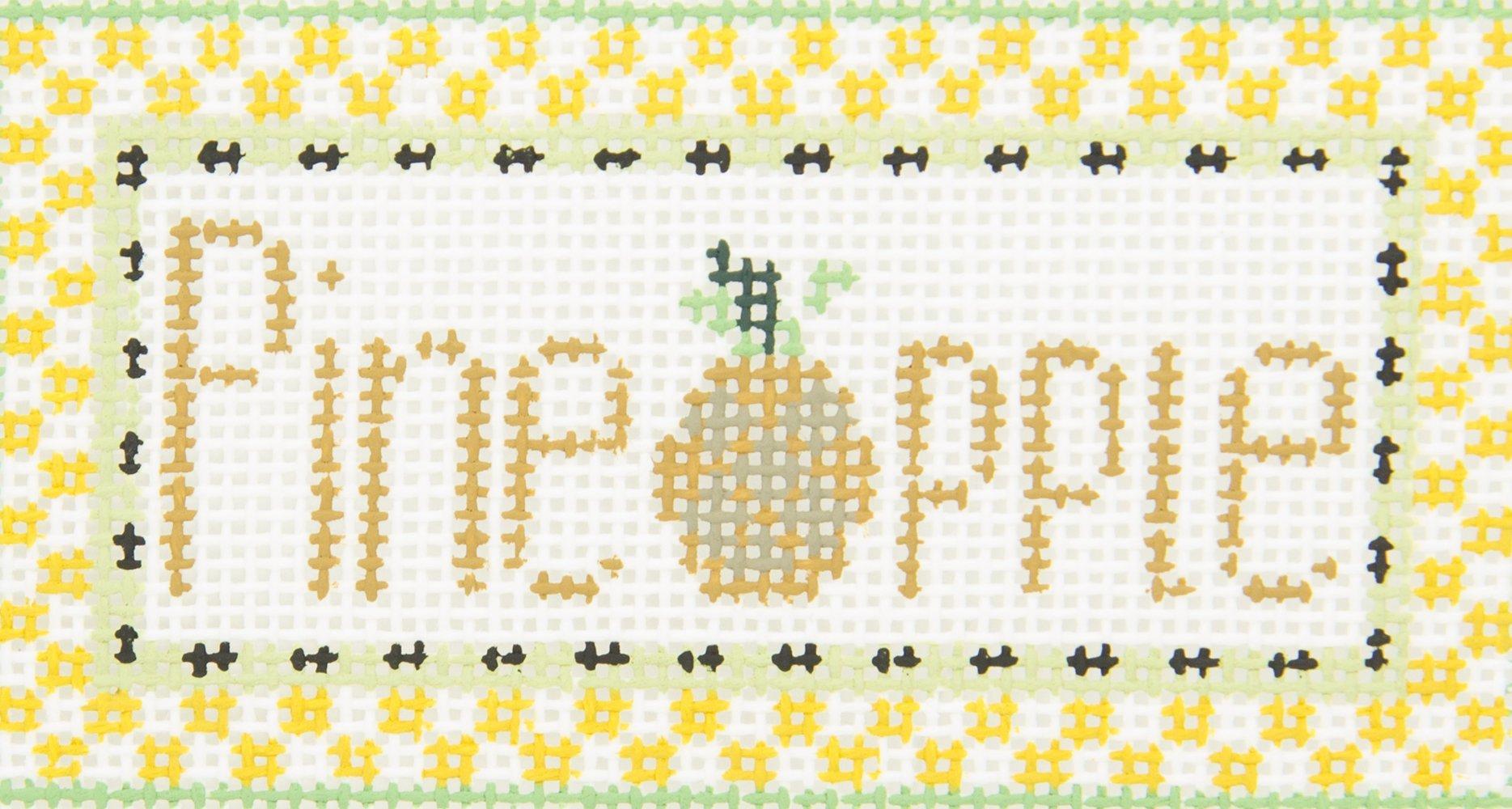 TL95 Pineapple Sign Kathy Schenkel