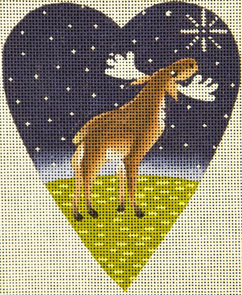 KB208 Moose Midnight Heart